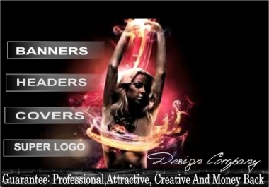 design an ATTRACTIVE Banner, Header, Facebook timeline or Twitter cover