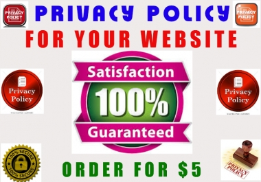 write A REMARKABLE Privacy Policy And Terms Of Service In 2 Days