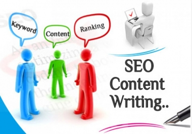 Create a great content SEO quality 500-800 word  article that'll make your site appear in search results quickly