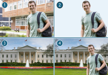 remove background and Photoshop images