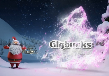 create this SANTA magic video with your info