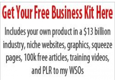 give you a kit to start your online business
