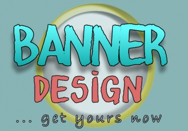 Design A Professional Ad BANNER