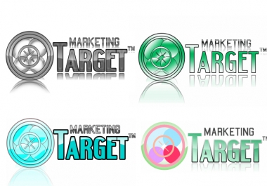 give nice and good looking marketing Logo