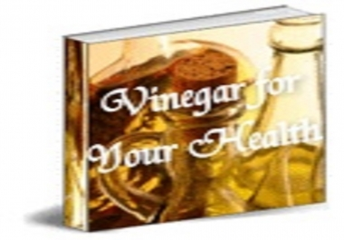 give you vinegar for your health
