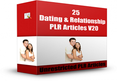 give you 25 article Competition in the Dating and Relationship Niche Market