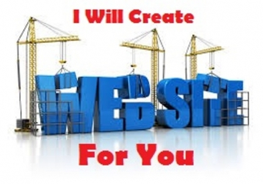 Create Website For You