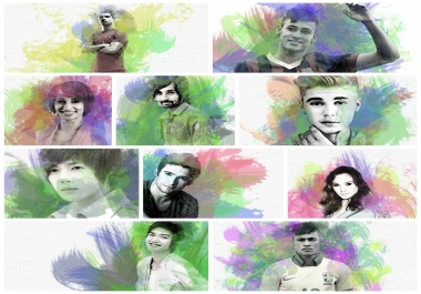 paint your photo in water colors