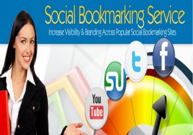 ping your site to 400 social bookmark Premium quality backlinks