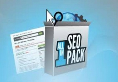 create the ALL IN ONE SEO PACK