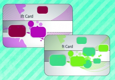 do gift card or business card