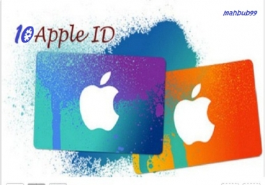 create 5 fresh iTunes account in any country