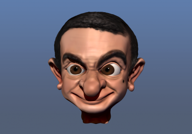 do your 3d caricature