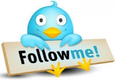 give you 4000 twitter followers,100 re tweet free