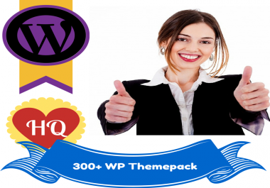 Give You 300+ Awesome Wordpress Themes MegaPack With PLR