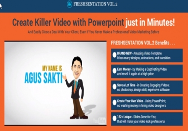 Create Killer Video with Powerpoint just in Minutes!