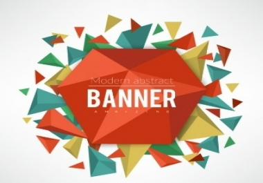 create an attractive and eyecatching banner