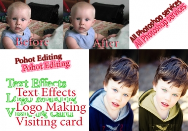 do photoshop editing professionally.in 24hr