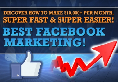 Show you how to Earn $10,000 Monthly from FACEBOOK