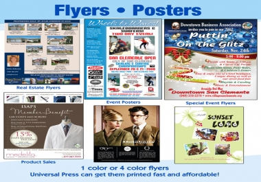 design an AMAZING Flyer, Poster, Card, Banner or Brochure