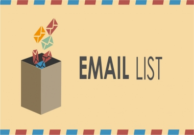 Deliver a 10k optin email list of your choice.