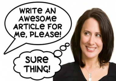 write 600 plus words article on any given topic