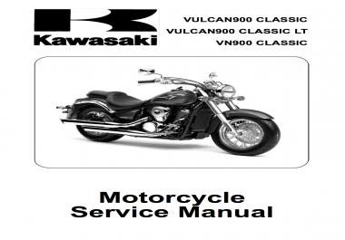 give you the Kawasaki Vulcan VN900 Service Manual