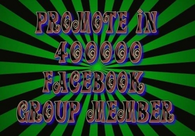 promote your website/ afflilates links on 450+ facebook groups manually 2 Times in 15 days