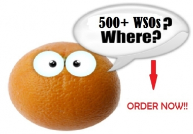 give You Access To MY 500 Plus Latest WSOs - INSTANT DOWNLOAD