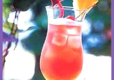 give you a 5 recipes for COCKTAILS