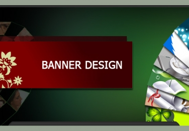 design a advertisment banner for your site/product