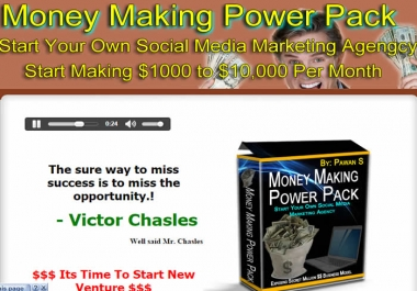 Start Your Own Social Media Marketing Agency , Step By Step Guide To Start Making $1000 to $10000 Per Month