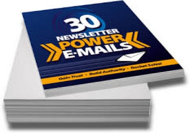 give you 30 Traffic Generation Followup Email Series
