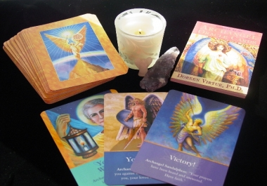 provide a cerfited angel reading