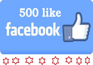 give 500 worldwide Facebook Likes boost your social marketing