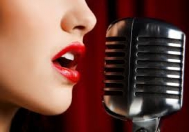 record a PROFESSIONAL voice-over
