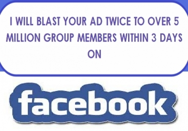 BOMB BLAST & PROMOTE YOUR SITE/ANYTHING WITH 900,986,650 (900 MILLIONS)ACTIVE FACEBOOK MEMBERS WITH PROOFS