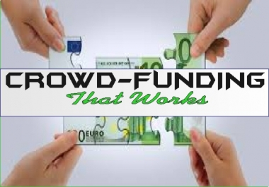send your crowd funding CAMPAIGN to millions