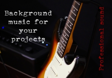 compose and record background music