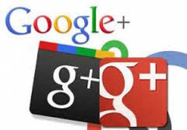 add GENUINE Active High quality 500 GOOGLE plus followers or circles