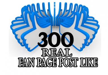 add permanent fan page post likes