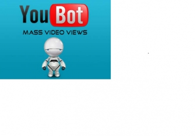 give you High Quality You Tube Bot only
