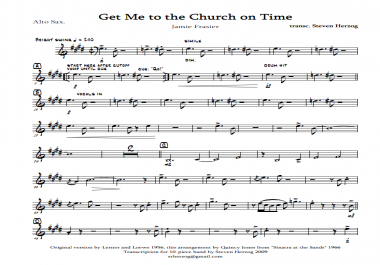 arrange or transcribe one page of music