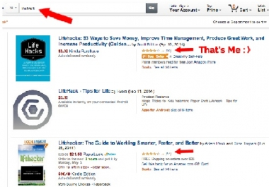 Show How to get an Kindle eBook to #1 on Amazon Make $36242 in Profit