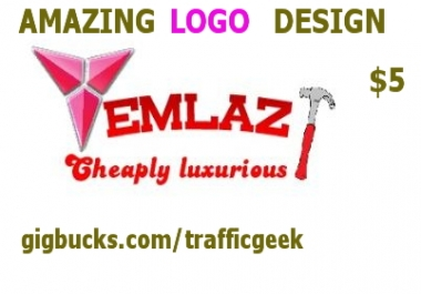 design an amazing logo for you