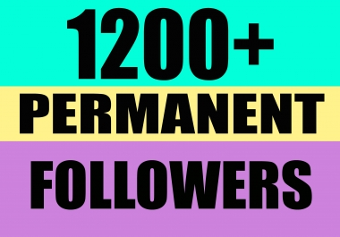 give you PERMANENT Instagram followers