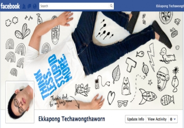create a Facebook Timeline Cover Photo Banner