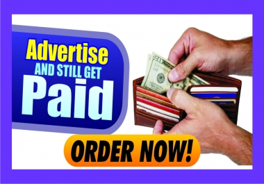 teach you how to get paid for advertising your products–targeted traffic