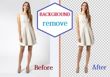 professionally remove background 15 images with white or transparent