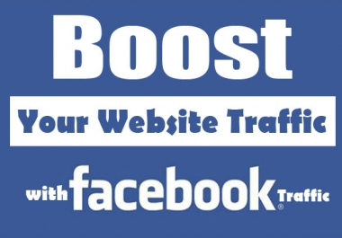 Provide 5000 Real and Genuine USA Facebook Traffic To Any Website or Blog